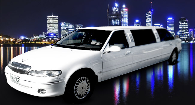Most hired luxury cars In melbourne - Ford Fairlane LTD Limo