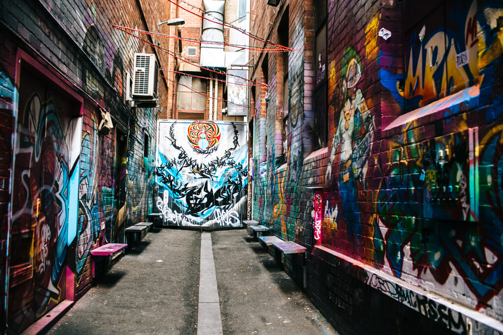 Street art Tour melbourne