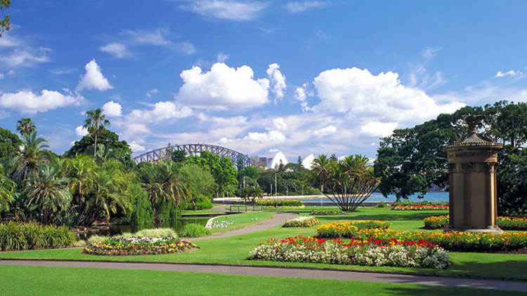 botanic garden melbourne